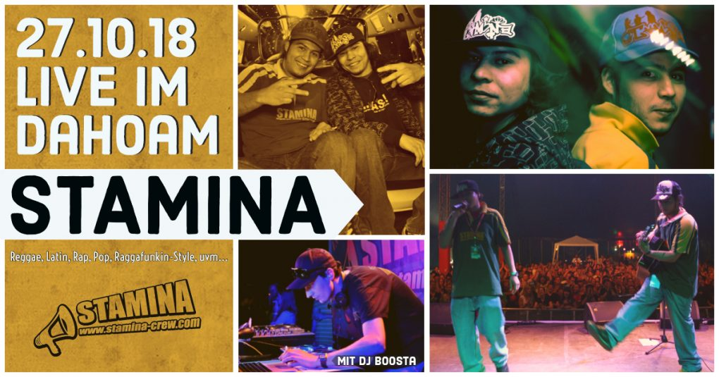 STAMINA Crew Party im Dahoam