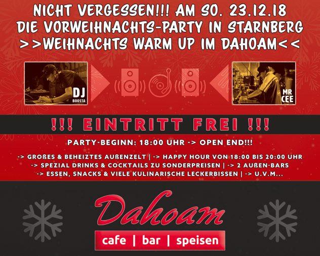 Dahoam Weihnachtsparty in Starnberg