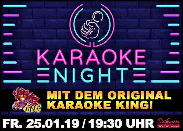Dahoam Karaoke Party Karaoke King