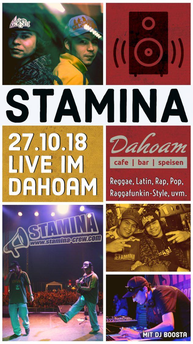 Party im Dahoam mit der Stamina Crew