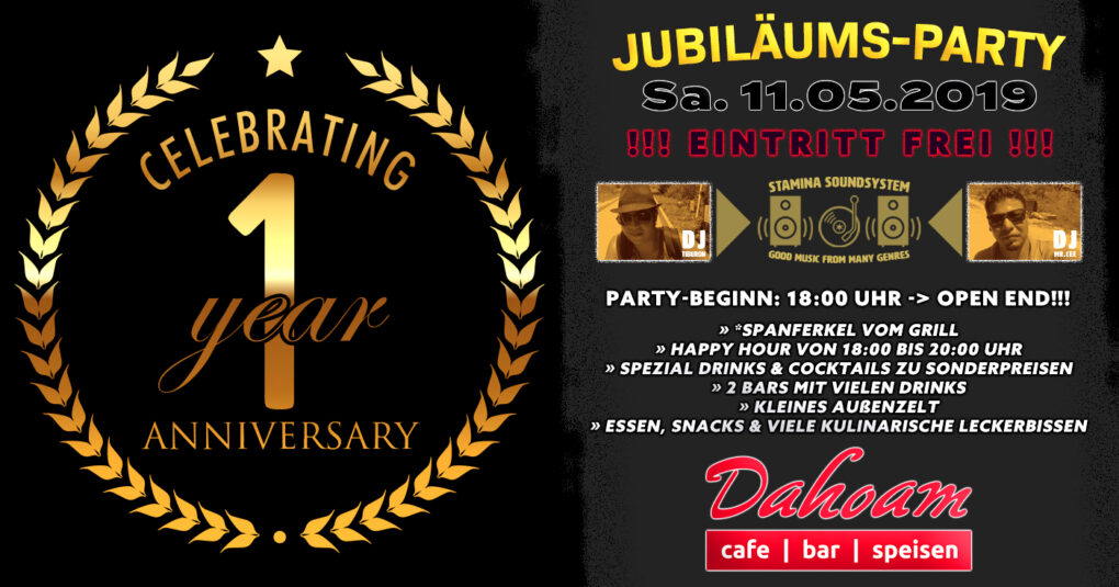 Jubiläums Party